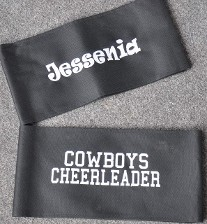 Name on chairback