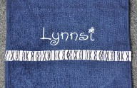 Personalize sprit towel