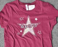 Spirit Shirt with Rhinestones